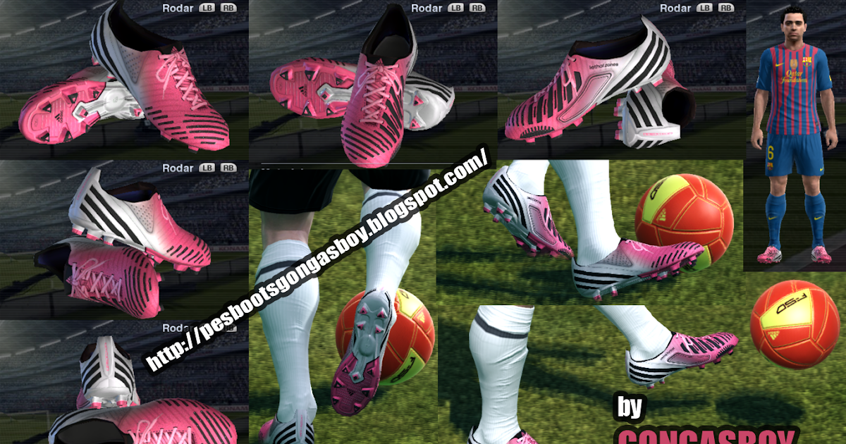 Adidas Pink And Blue Shoes