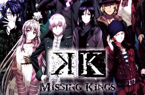 Anime terbaik dan populer dalam musim spring 2015 - K: Missing Kings