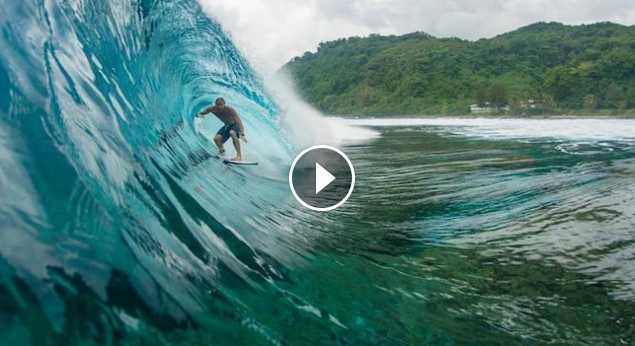 Barrel bliss surf in Samoa with Jamie O Brien Sessions