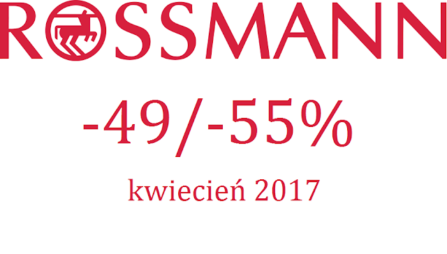 Co kupiłam w Rossmannie na promocji -49%/-55% oraz bonus jaki otrzymałam korzystając z promocji