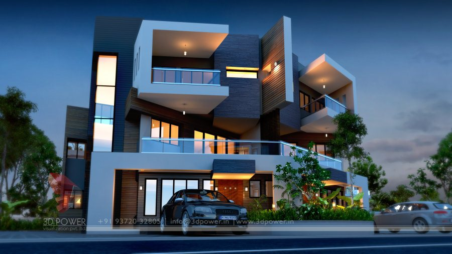 Front Elevation Design In Ludhiana : D animation rendering walkthrough interior