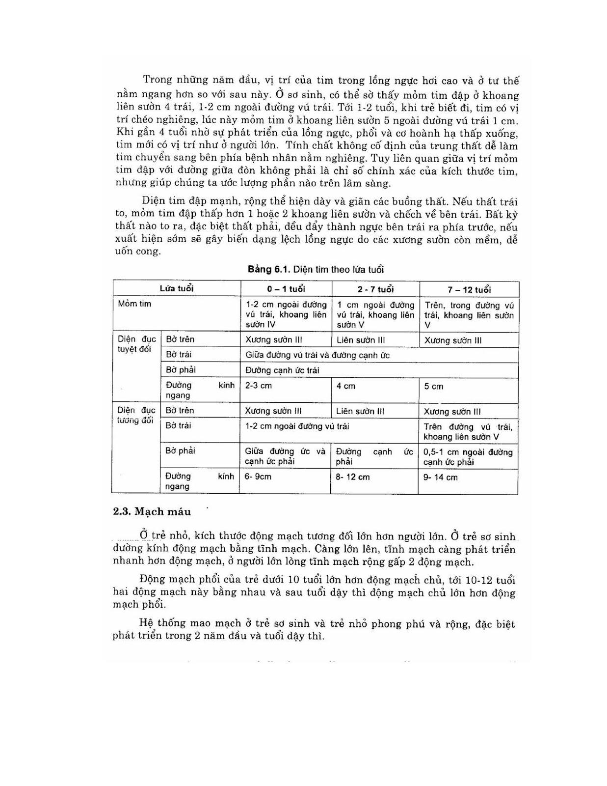 Trang 9 sach Bài giảng Nhi khoa - ĐH Y Hà Nội (Tập 2)
