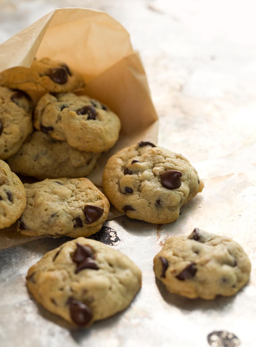 Mini Chocolate Chip Cookies