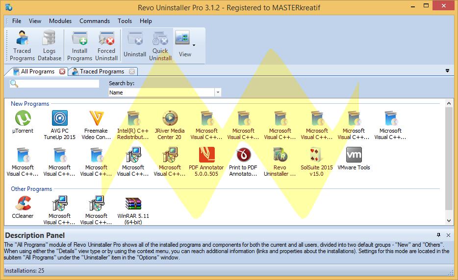 Revo Uninstaller Pro 3.1.2