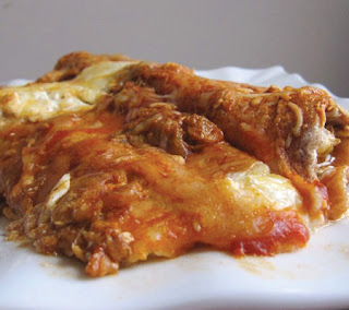 Cottage Cheese Chicken Enchiladas Recipe