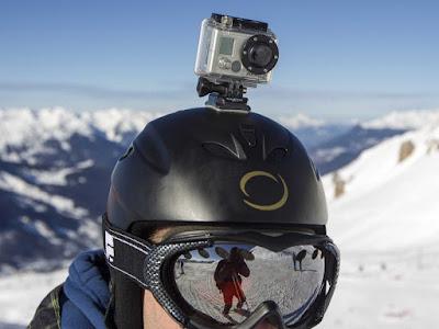 Kamera GoPro Untuk Olahraga ski bersalju outdoor