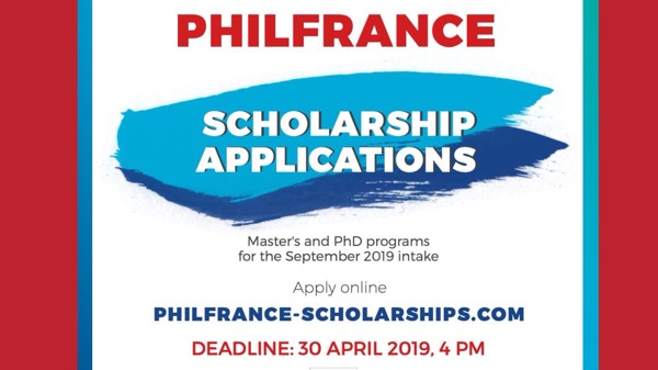 French embassy offers scholarships for masteral, doctorate degree for Filipinos