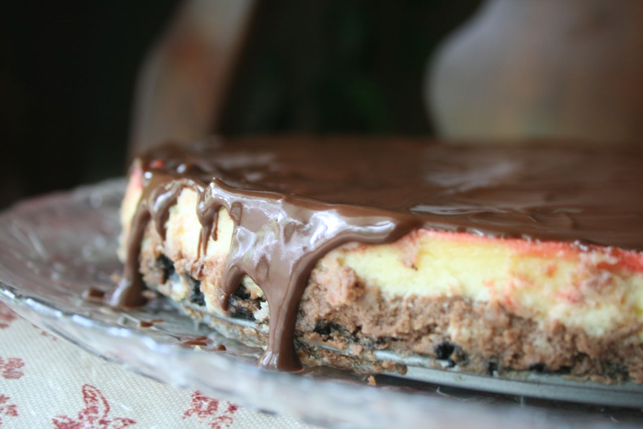 Recipe Shoebox Award Winning Neapolitan Cheesecake