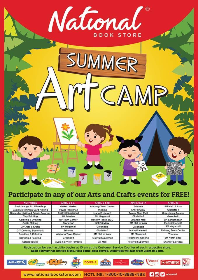 Manila Shopper 2016 Summer Activities Amp Workshops