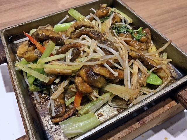 崇德發蔬食餐廳鐵板燒菜色