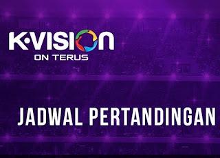 Jadwal Siaran Bola K-Vision Terbaru Hari Ini