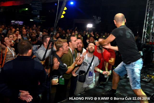 Koncert Hladno pivo na 9.Weekend Media Festival u Rovinju 22.09.2016