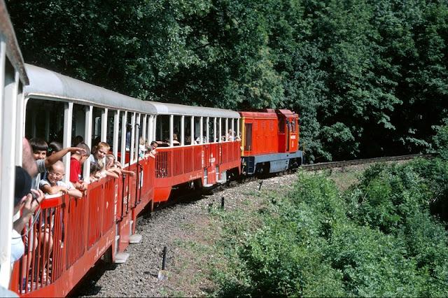 Estrada de ferro das crianças, Budapeste