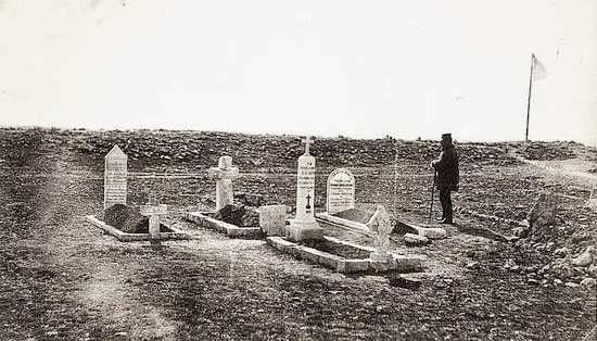 Английское кладбище около Балаклавы