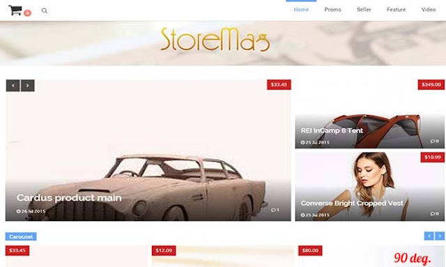 Storemag Blogger Template