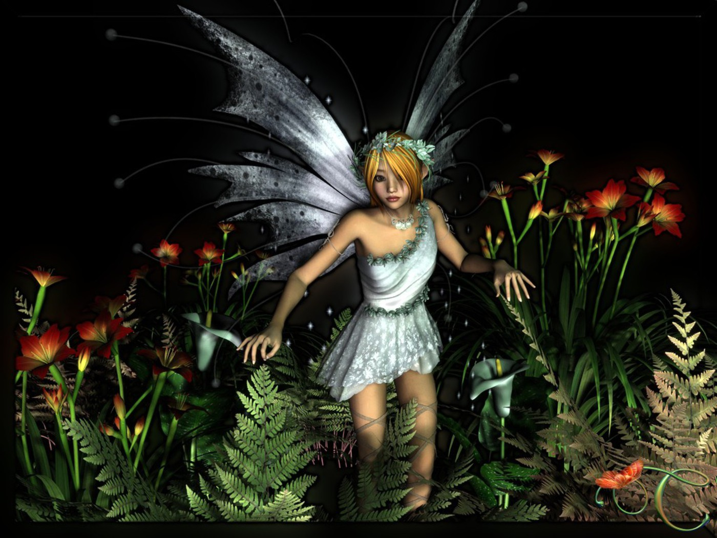 Angels Wallpapers For Desktop 3d: HD Wallpapers: Download 3D Fairy Angels HD Wallpapers Free