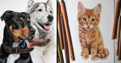 00-Kelly-Lahar-Our-Furry-Companions-in-Animal-Drawings-www-designstack-co