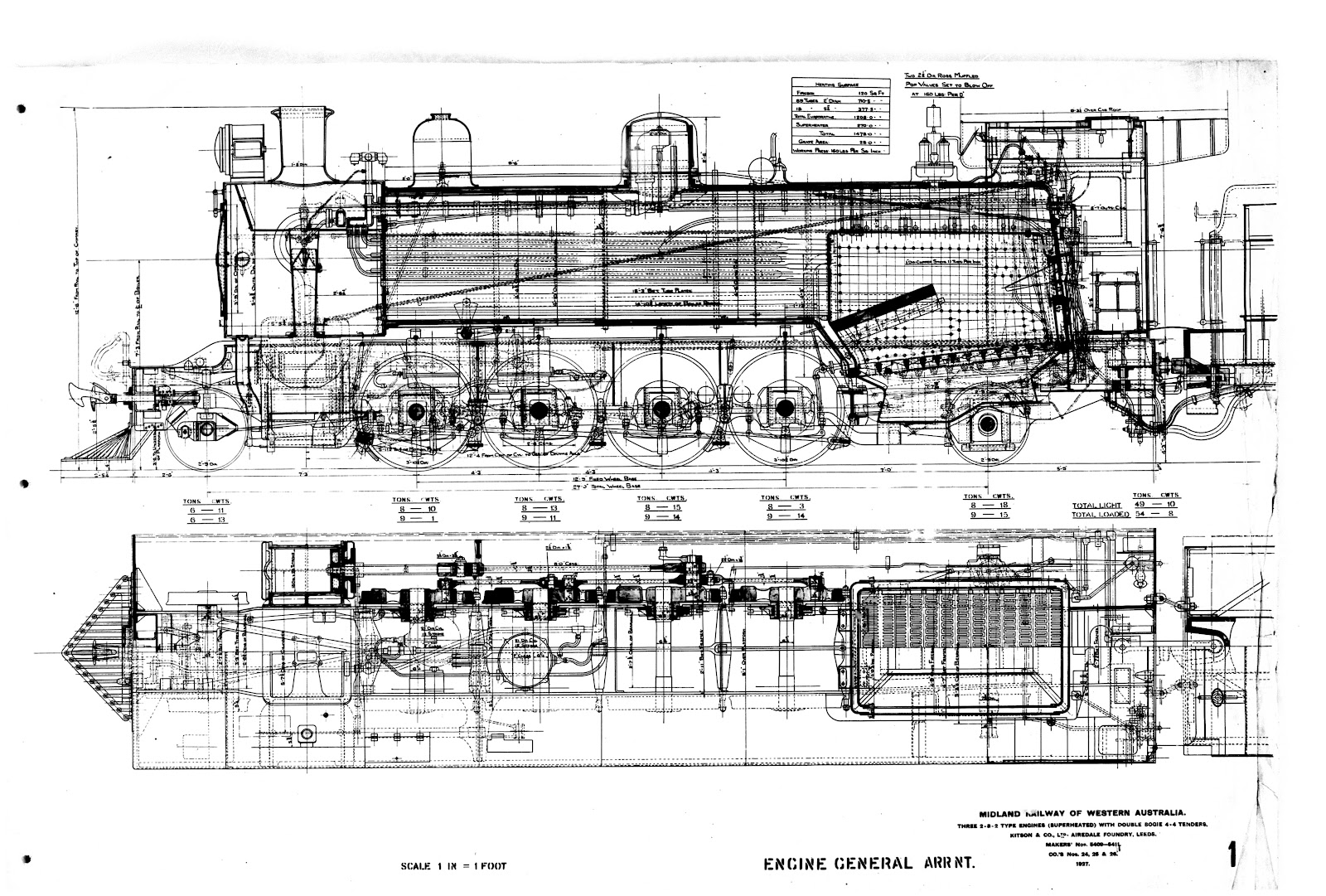 wa sn3 models the mrwa a class steam locomotive wa sn3 models [ 1600 x 1081 Pixel ]