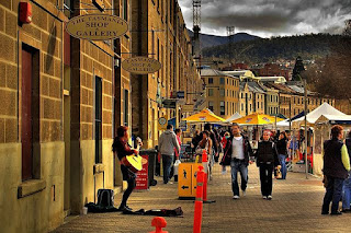 salamanca market hobart tasmania