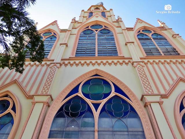 Perspectiva inferior da fachada da Igreja Evangélica Assembléia de Deus Ipiranga - Ipiranga - São Paulo