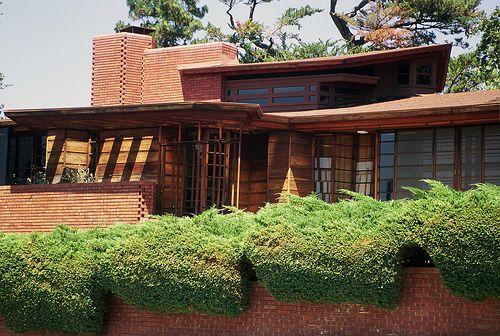 Frank Lloyd Wright Style Houses. The. Frank Lloyd Westcott House ...