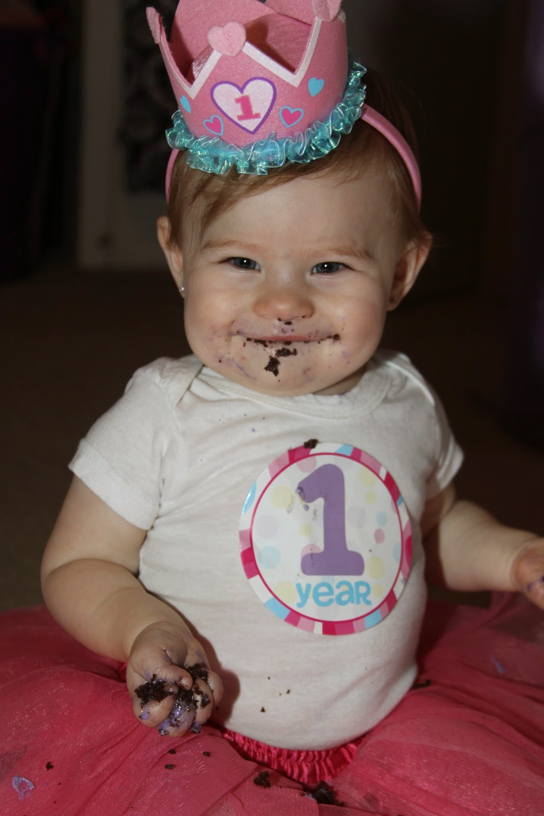 For the Love of Food Avas 1st Birthday Cake Smash and Favorite