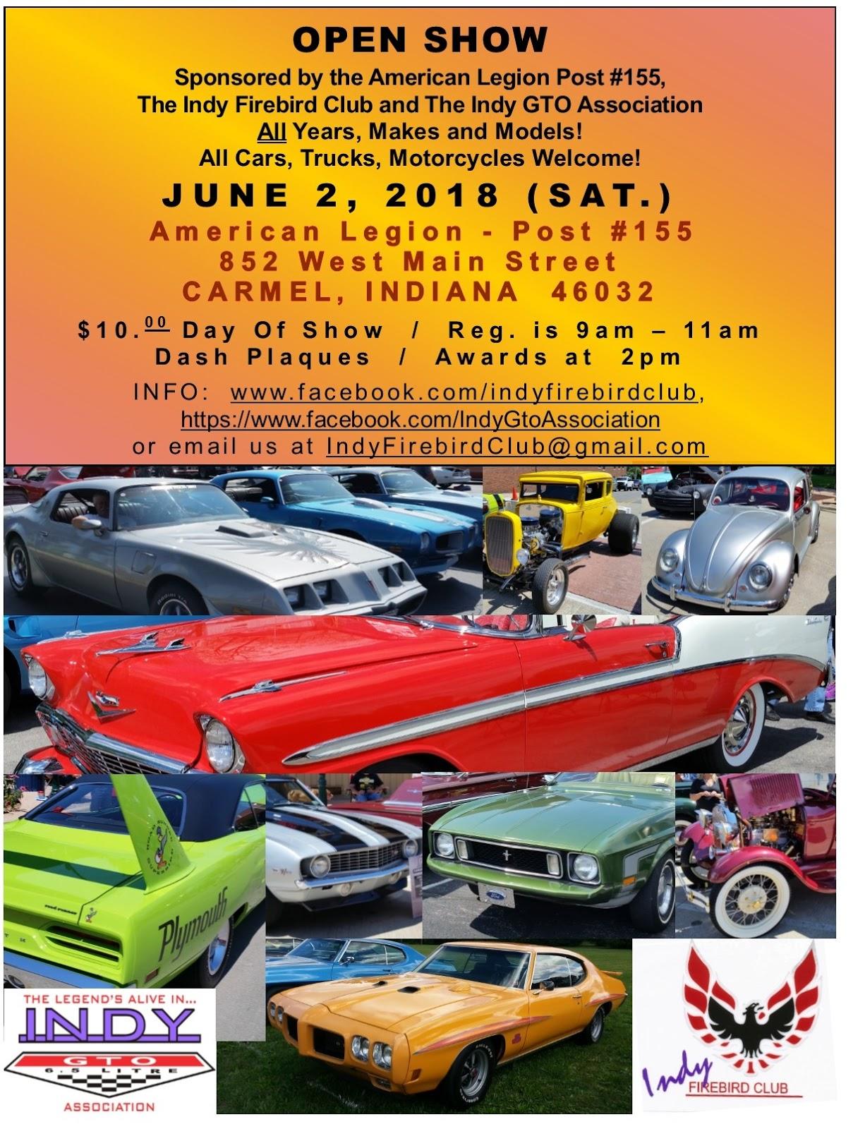 Indy GTO Association - Carmel indiana car show