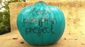 teal pumpkin project halloween healthy safe allergy treats