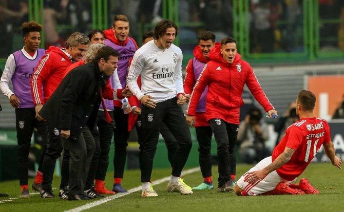 Benfica festejo de Seferovic