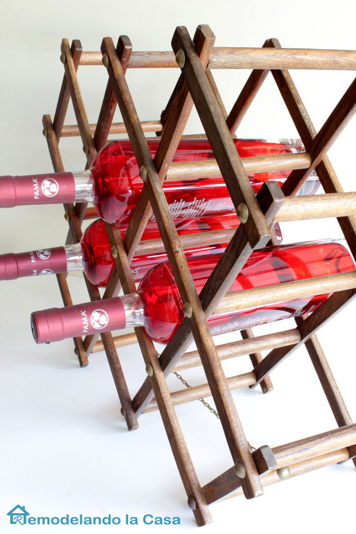 made in Japan accordion wine rack