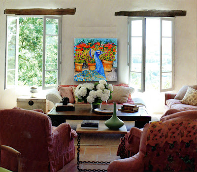 Art Blog for The Inspiration Place: Mixing Bright Painting ...