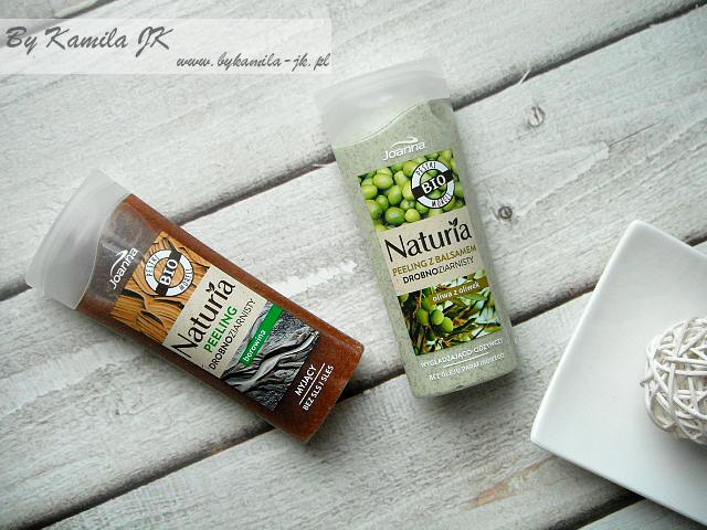 Joanna Naturia peeling do ciała drobnoziarniste borowina oliwa z oliwek