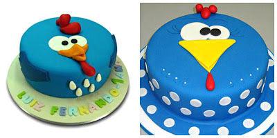 1 bolo galinha pintadinha 1
