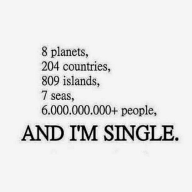 My Feeling That I M Single Funny Quotes Funipix