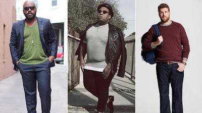 KiniMuda.com - Bagi Kamu Cowok Gemuk, Lakukan Tips Berpakaian Ini Agar Tetap Fashionable