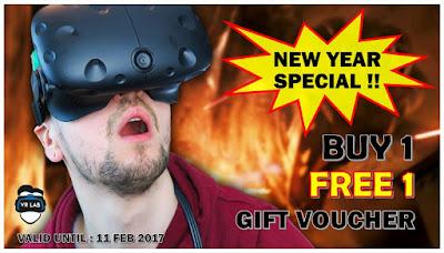 Kaki Game Boleh Ke VR Lab Untuk Lebih Kepuasan!