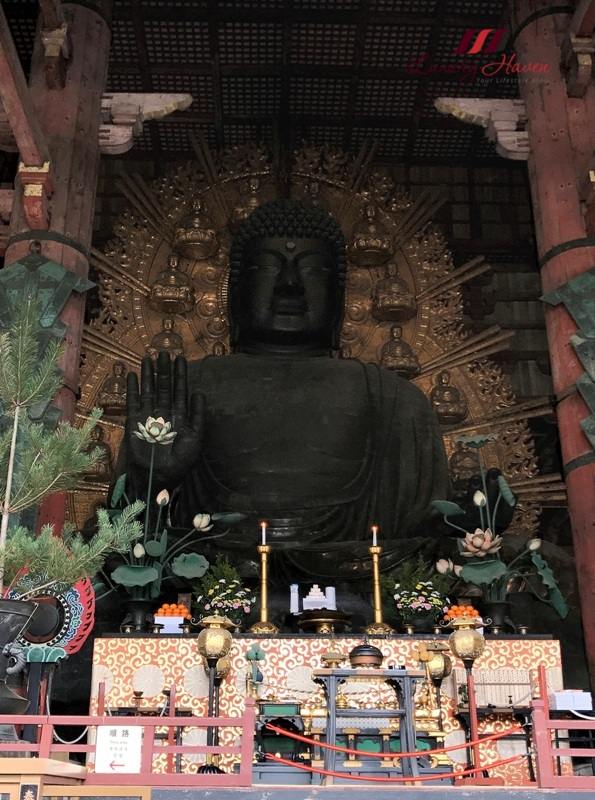 todaiji temple big buddha daibutsu