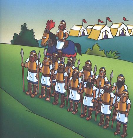Cantinho Infantil: Davi e Golias