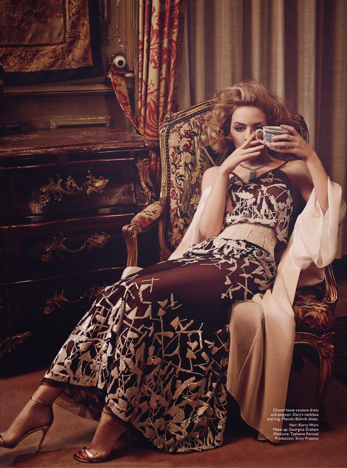 Kylie minogue agent provocateur lingerie advert - 3 4