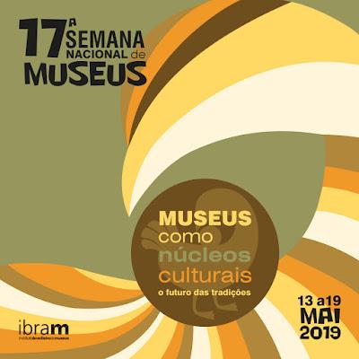 Semana Nacional dos Museus segue até domingo, 19