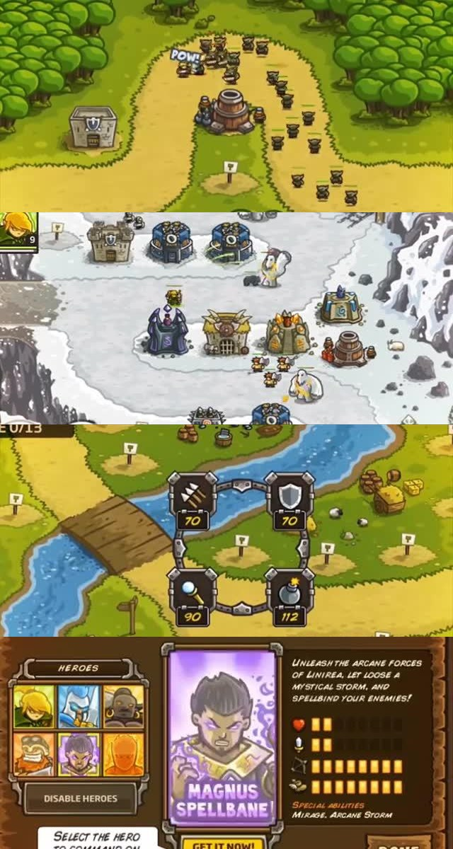Top 25 Best Free iOS Games 1. Kingdom Rush!
