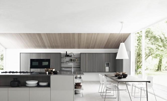 Rekaan Dapur Terkini Terarah Kepada Tona Warna Neutral Seperti Kelabu Kuning Air Beige Atau Putih Gading Off White Ini Dipilih Kerana