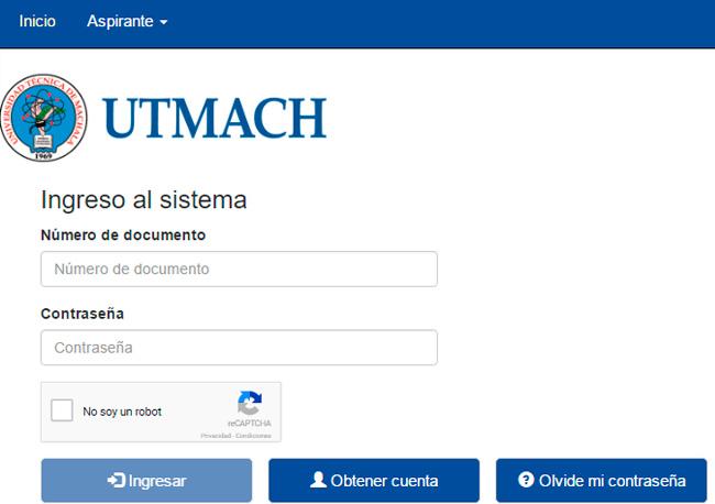 Consultar Asignación de Cupos Universidad Técnica de Machala 2017 www.utmachala.edu.ec
