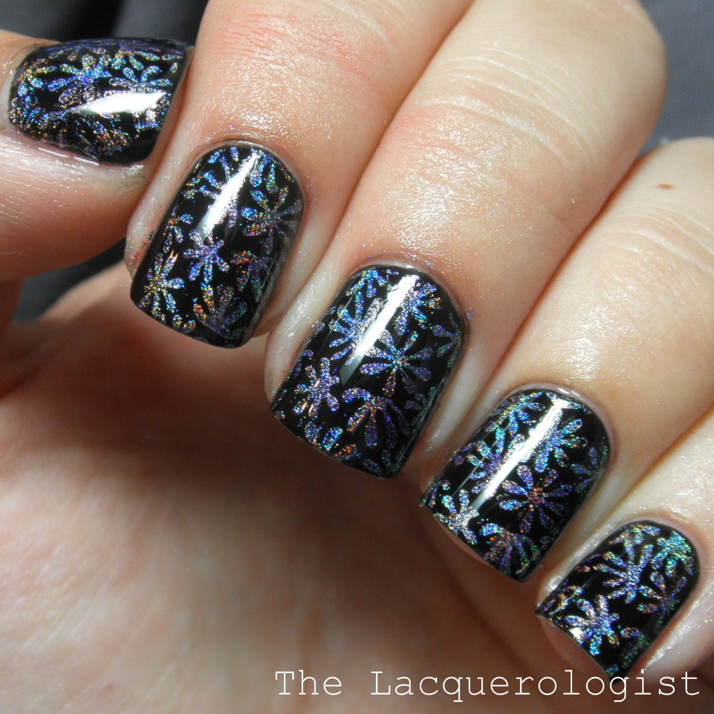 Nail Art Featuring Konad m94 from Nail Polish Canada! • Casual Contrast