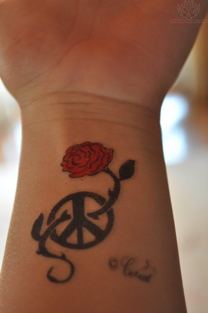Rose Tattoo On Wrist: 1990Tattoos: Cute Rose Tattoos On Wrist