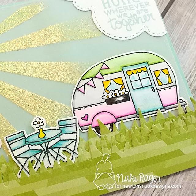 Newton's Nook Designs Cozy Campers Set - Naki Rager