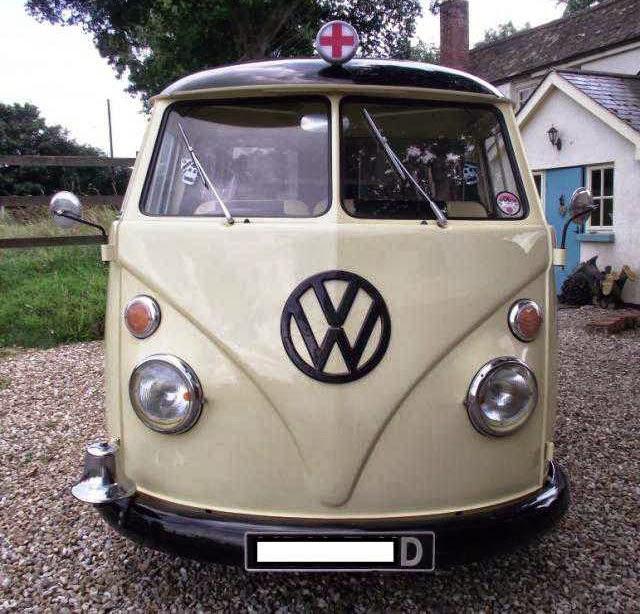 1966 Volkswagen Camper Ambulance Vw Bus