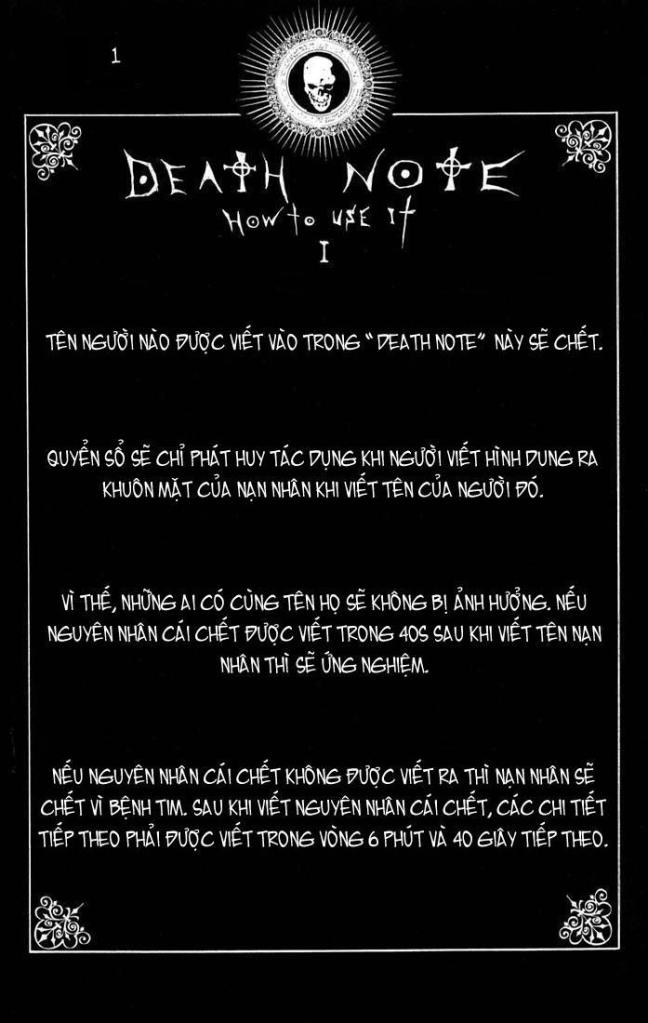 Death Note chapter 110 - how to use trang 4
