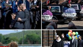 Θρήνος στην κηδεία των τριών παιδιών του δισεκατομμυριούχου ιδιοκτήτη της Asos - Σπαρακτικό αντίο από την οικογένεια