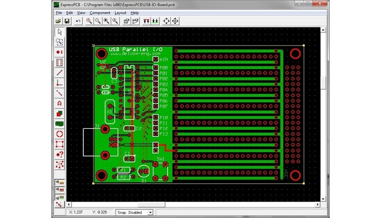 20+ Free PCB Design Software - Electronic Pull